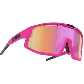 Bliz Vision Brille matt neon pink/brown with purple multi